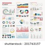 infographic elements big set   Shutterstock .eps vector #201763157