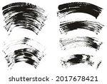 flat fan brush thin curved... | Shutterstock .eps vector #2017678421
