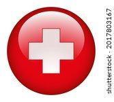 medical cross symbol in a red... | Shutterstock . vector #2017803167