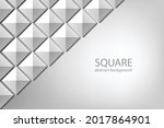 square pyramid top view... | Shutterstock .eps vector #2017864901
