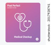 annual medical checkup thin... | Shutterstock .eps vector #2017928741