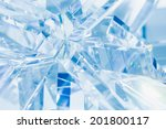abstract blue background of... | Shutterstock . vector #201800117