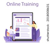 staff counselling online...   Shutterstock .eps vector #2018008631