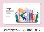 jeweler web banner or landing... | Shutterstock .eps vector #2018032817