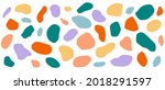 abstract shape of the spot.... | Shutterstock .eps vector #2018291597