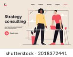 business concept flat style... | Shutterstock .eps vector #2018372441