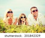 summer holidays  children and... | Shutterstock . vector #201842329