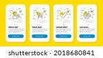 vector set of internet shopping ...