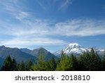 mount rainier national park ...   Shutterstock . vector #2018810