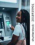 Cheerful African American Woman ...