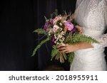Gentle Hands Of The Bride Hold...