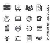 office and business icons | Shutterstock .eps vector #201902239