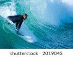 pacific surfer | Shutterstock . vector #2019043