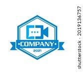 video chat logo   technology...
