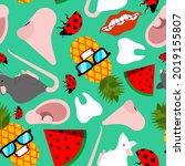 trendy pattern seamless.... | Shutterstock .eps vector #2019155807