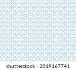 abstract geometric pattern with ... | Shutterstock .eps vector #2019167741