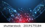 halftone theme vector. science... | Shutterstock .eps vector #2019175184