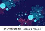 modern science or technology... | Shutterstock .eps vector #2019175187