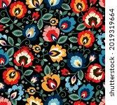beautiful polish traditional... | Shutterstock .eps vector #2019319664