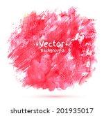 abstract vector watercolor... | Shutterstock .eps vector #201935017