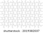 puzzle  game grid for 100... | Shutterstock .eps vector #2019382037