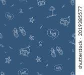 vector doodle pattern design....   Shutterstock .eps vector #2019385577