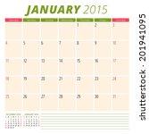 Calendar 2015 January Us...