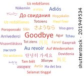Goodbye In Different Languages...