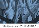 illustration of forest...
