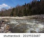 Spring  Mountain Streams ...