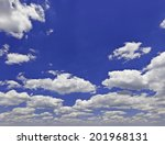 Cloudscape With Some Wonderful Scenic Clouds - stock photo