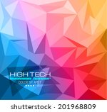 elegant business card design... | Shutterstock .eps vector #201968809