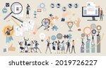 hr human resources elements...   Shutterstock .eps vector #2019726227