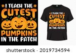 halloween  halloween t shirt ... | Shutterstock .eps vector #2019734594