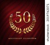 anniversary celebration logo... | Shutterstock .eps vector #2019762071