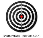 top view of dartboard. bullseye ...   Shutterstock .eps vector #2019816614