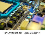 electronic computer device.... | Shutterstock . vector #201983044