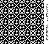overlapping circles pattern....   Shutterstock .eps vector #2019923441