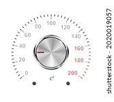 vector temperature regulator on ... | Shutterstock .eps vector #2020019057