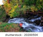 minnehaha park in minneapolis...   Shutterstock . vector #20200504