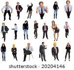 people in studio  individual... | Shutterstock . vector #20204146