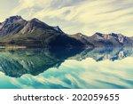 mountain lake | Shutterstock . vector #202059655