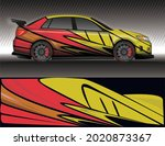 car livery wrap decal  rally... | Shutterstock .eps vector #2020873367
