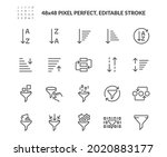 simple set of sorting and... | Shutterstock .eps vector #2020883177