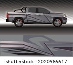 wrap car decal livery rally... | Shutterstock .eps vector #2020986617