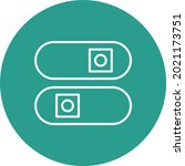 toggle switches icon vector...