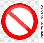 vector blank ban  | Shutterstock .eps vector #202122565