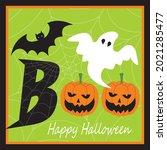 Ghost  Pumpkin And Bat...