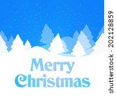 winter design | Shutterstock . vector #202128859