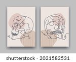 continuous line drawing of...   Shutterstock .eps vector #2021582531